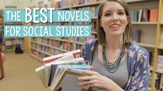 Bring history to life with the best historical fiction novels for social studies! #vestals21stcenturyclassroom #novelsforsocialstudies #booksforhistory #socialstudiesideas #socialstudiesactivities #ushistory #ushistoryideas #ushistoryactivities