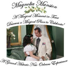 New Orleans Mansion Elopement & Vow Renewal Packages  Wedding & Reception Venue