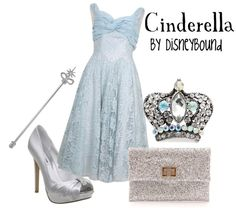 """Cinderella"" by lalakay ❤ liked on Polyvore"