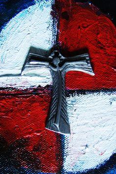 819b6ed143b This is my NEW Design TAU Cross Jesus Open Heart 2017 Hand made   finish  Very