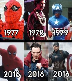 Which one do you think looks much better than the old one? I think Captain America changed the most