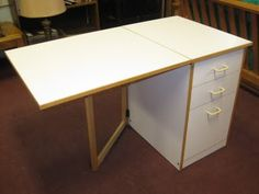 Fold Down Work Table