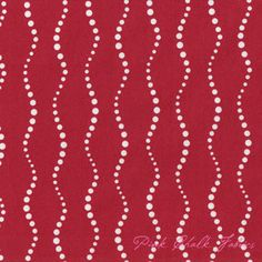 Fabric: Alison Glass Lucky Penny Bike Path Red