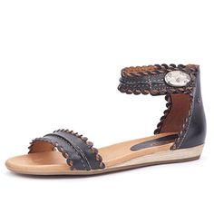 The Alcudia is a two banded dress casual sandal that has all day comfort and style. The sandal features a hand burnished leather upper with a playful whip stitch.