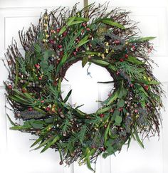 Meadow Sweet Silk Wreath