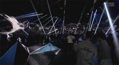"Interaktive Multimedia-Landschaft beim Oakley Event ""Disruptive By Design"""