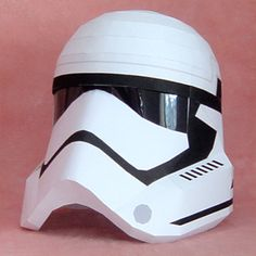 Paperized: Star Wars : Episode VII Storm Trooper Helmet Paper...