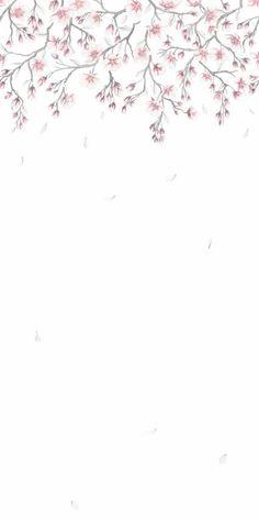 627-03_1 A N Wallpaper, Flower Wallpaper, Pattern Wallpaper, Polaroid, Fantasy Illustration, Pattern Names, Cherry Blossom, Fascinator, Paisajes