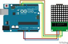LED Matrix display 8x8 dots