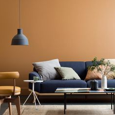 Interior Paint Colors 2017 3 Colors of the Year 2017 by Haymes via Eclectic Trends. It's getting darker, cosy and slightly moody. See three options to snuggle up in a warm interiors.Interior Interior may refer to: Interior Design Minimalist, Home Interior Design, Interior Concept, Room Interior, Kitchen Interior, Interior Designing, Apartment Interior, Contemporary Interior, Luxury Interior