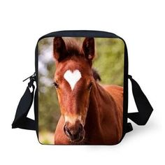 3D Crossbody Horse Printing Shoulder Bag