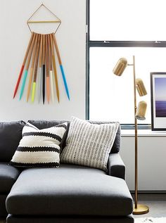Mix and Chic: Home tour- Rebecca Minkoff's stylish and refreshingly modern apartment!