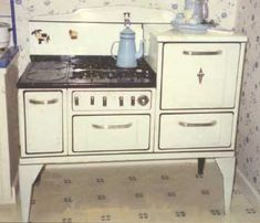Early Style Wedgewood stove