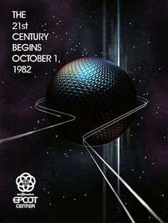 Vintage Disneyland Epcot Center 1982 Poster | eBay - WANT