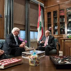 German Minister of Foreign Affairs and Lebanese Foreign Minister discuss Syrian refugee crisis