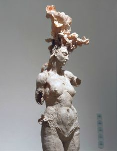 """The decision to use polyester resin to make final pieces was accidental. Unlike painting, where you can take a picture and have the two dimensions, the sense of volume is irreproducible, even if y. Mixed Media Sculpture, Art Sculpture, Piazza San Marco, Rodin, Javier Marin, Art Du Monde, Architecture Art Design, Color Studies, Art Model"