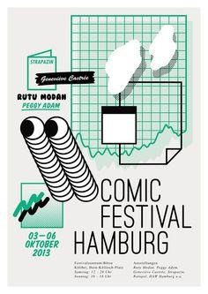 regardezunepipe:  comicfestival hamburg - 2013