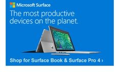Microsoft Surface.The most productive device on the planet. Shop for Surface Book and Surface Pro 4.
