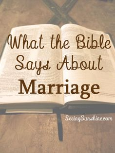 I was asked to write a post about marriage, before I was even married myself. I wasn't sure what to write, but as I wrote one post after praying that God would give me the words, God decided to give me enough words to overflow three blog posts. God is kind of cool like that. I […]