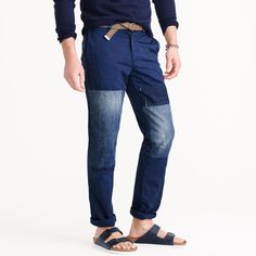 Wallace & Barnes denim-patched chino : Wallace & Barnes | J.Crew