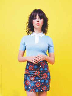 Actress: Felicity Jones | Photographer: Simon Emmett - for Glamour UK, July 2015