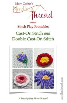 Stitch Play Printable: Cast-On Stitch and Double Cast-On Stitch