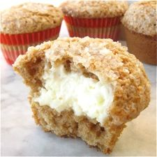 Cream Cheese Carrot Cake Muffins