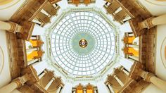 Tate Britain Gallery Ceiling - The Tate aims to increase everyone's enjoyment and understanding of art. #whistlercontemporarygallery