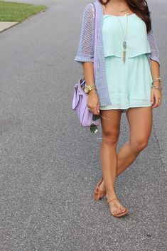 Glitter and Gingham : cool colored
