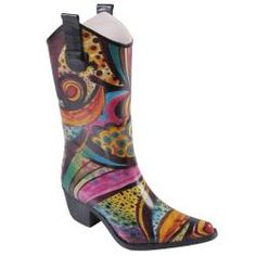 @Overstock - Make a splash with these Rain-02 fashion rain  by Journee Collection. With a western style and novelty print, you can keep your feet dry without sacrificing style.http://www.overstock.com/Clothing-Shoes/Journee-Collection-Womens-Cowboy-Style-Fashion-Rain/6673655/product.html?CID=214117 $48.99