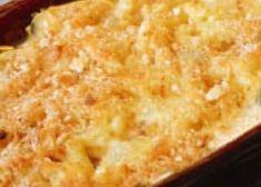 Gratin de coquillettes au gorgonzola et jambon