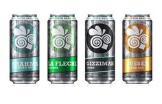 Cockeyed Brew Co. on Behance #can #packaging