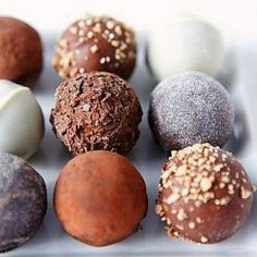 Candy truffles are always an elegant treat and to offer up some inspiration, here are 5 Tempting Truffle Recipes to share.