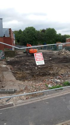 Demolition site of the former Golden Lion pub in Armley, Leeds. Photo by Sequin World Golden Lions, Leeds, World, The World