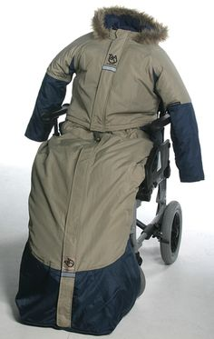 Wheelchair parka.  >>> See it. Believe it. Do it. Watch thousands of spinal cord injury videos at SPINALpedia.com