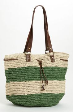 Straw Studios Drawstring Tote available at #Nordstrom