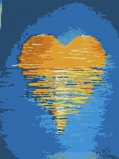 Cross Stitch Heart, Tapestry, Phone, Vestidos, Cross Stitch, Dots, Crosses, Crossstitch, Hanging Tapestry