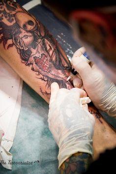 Dimitri HK, French Tattooist by The Tattoorialist