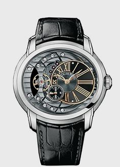 Audemars Piguet Millenary Automatic Skeleton Dial Mens Watch Quality Watches on SALE ! Fine Watches, Cool Watches, Watches For Men, Men's Watches, Wrist Watches, Dream Watches, Patek Philippe, Devon, Cartier