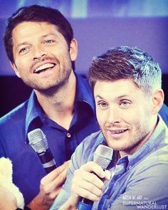 """He's so cute, you know? Like a little teddy bear. You just want to put it in your pocket and take home with you "" (C) Jensen about Misha."