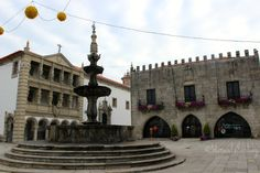 Plaza de la República de #VianadoCastelo, #Portugal. #CaminodeSantiago Portugués por la costa.
