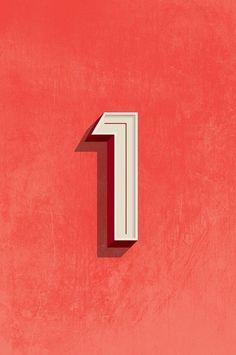 tumblr_mkmsxcuRfj1qg3iveo1_500.jpg 464×699 pixels #cijfers #1 #rood #kleur