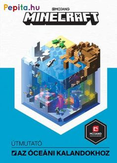 Minecraft Guide to: Ocean Survival. Learn how to survive in Minecrafts new and improved ocean biomes. Find out how to breathe underwater, how to deal with dangerous mobs like the drowned, and where to look for loot. Minecraft Room, Minecraft Houses, Breathing Underwater, Survival, Minecraft Designs, Library Card, Biomes, Good Books, Abs