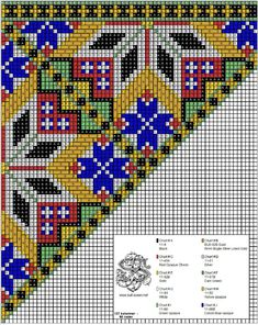 Cross Stitch Charts, Cross Stitch Patterns, Silver Chart, Crochet Bedspread, Sampler Quilts, Bead Crochet Rope, Loom Beading, Diy And Crafts, Folk