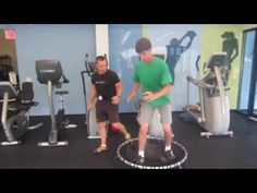 Easy mini-trampoline exercises for core and leg strength - Easy Health Options®