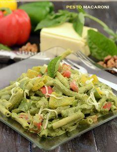 Pesto Macaroni                                                                                                                                                                                 More