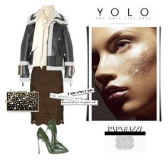 """""""Y.O.L.O"""" by curlysuebabydoll ❤ liked on Polyvore featuring Burberry, N°21, Yves Saint Laurent, Karl Lagerfeld and Casadei"""