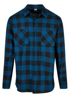Urban Classics Checked Flannel Shirt | Attitude Clothing