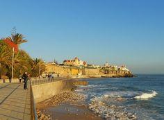 Estoril, Portugal  #Portugal #travel #TravelPinspiration An after diner walk leading back to our hostel Ljmonade!!