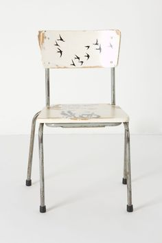 Decorate an old chair